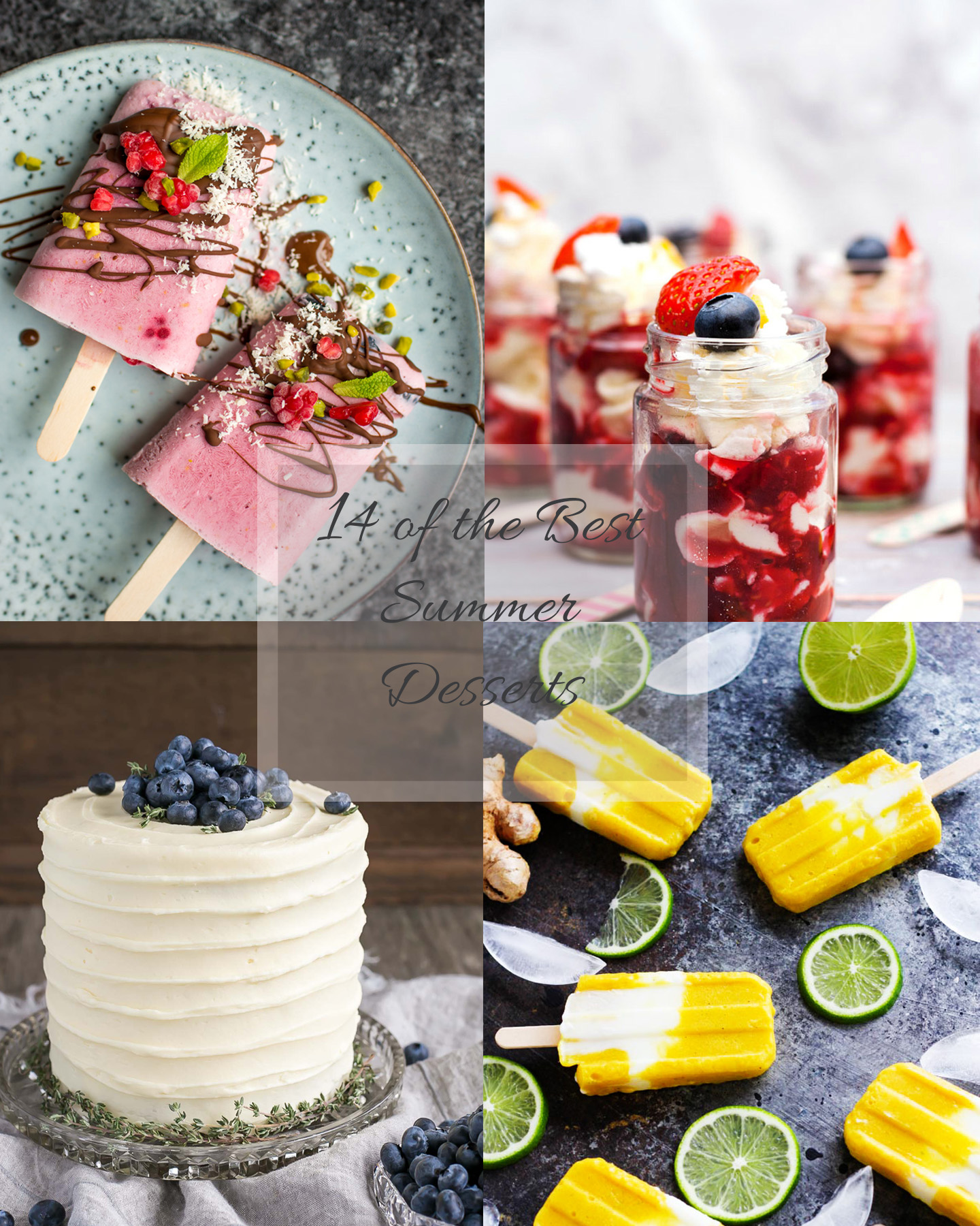 The Best Desserts For A Summer Party: 14 Options Your